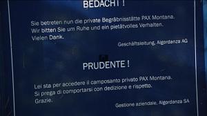 cimitero Friedwald Pax Montana